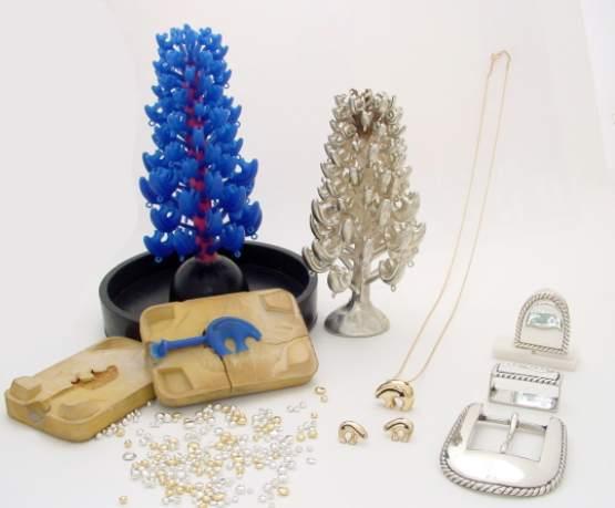 KicknCast jewelry items manufactured