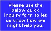 inquiry form prompt